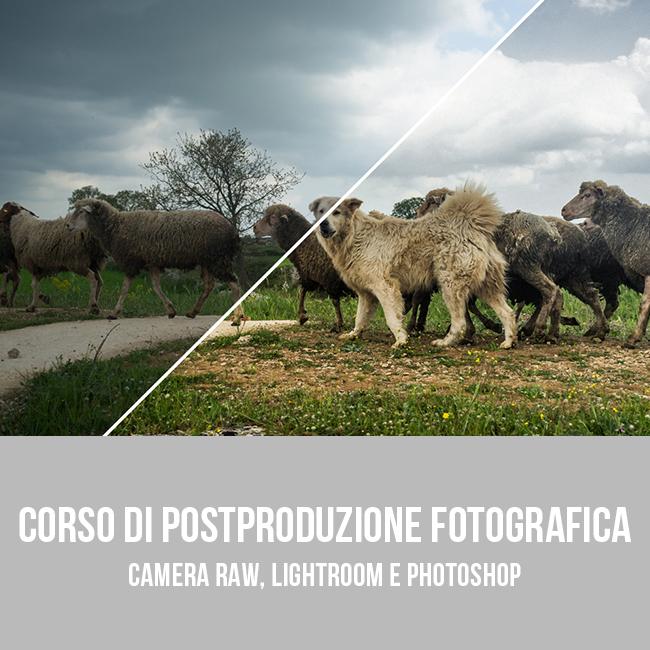 Corso base di postproduzione fotografica a Bari - Puglia 02