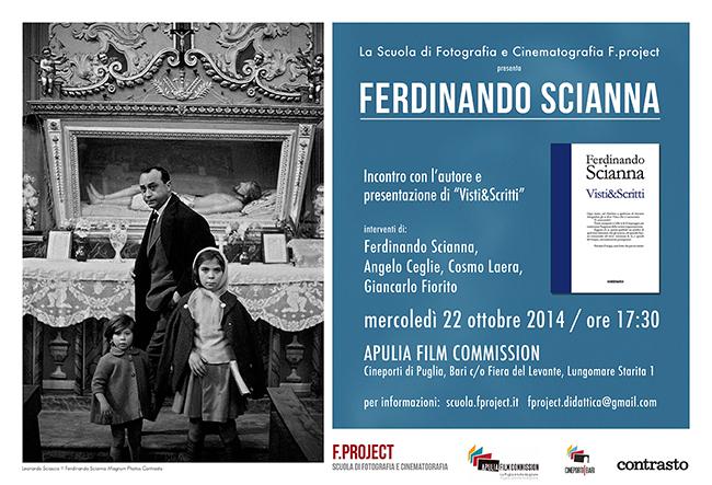 Ferdinando Scianna - Scuola F.project Bari