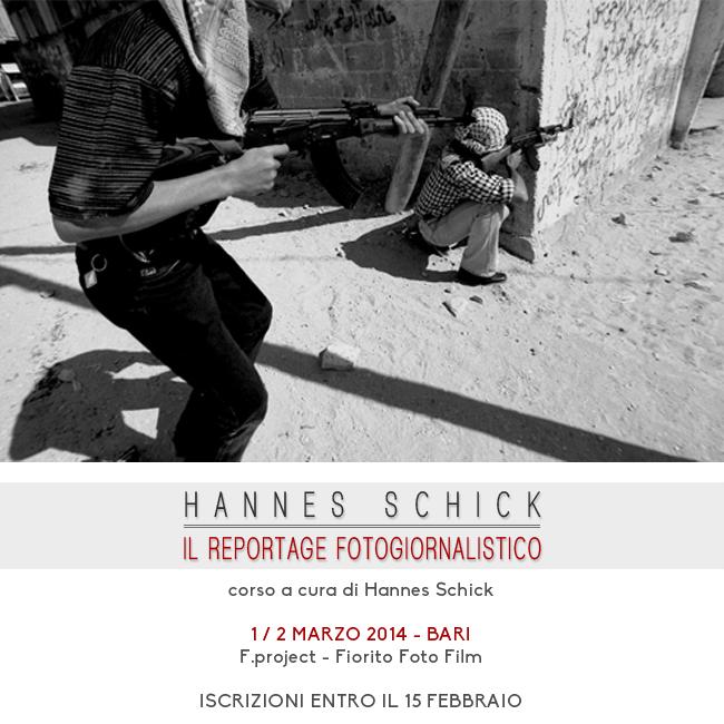 Hannes Schick - Corso di reportage Bari 650