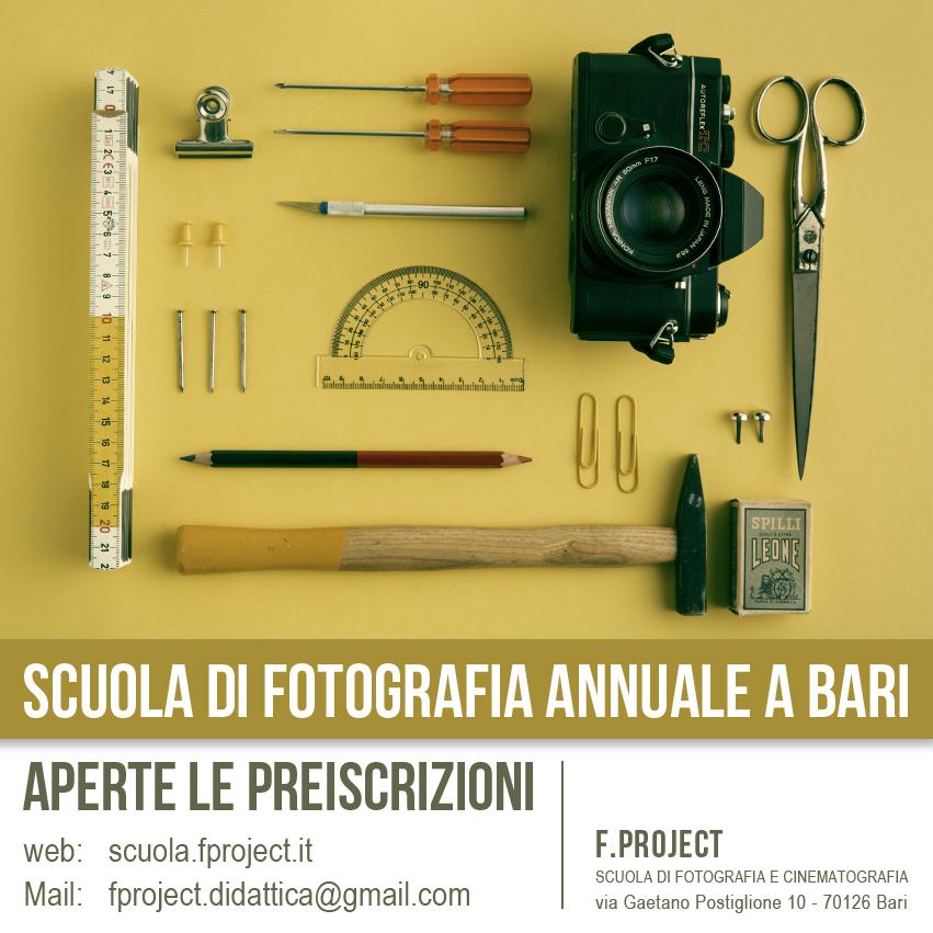 Scuola di Fotografia Bari Puglia - 2014 / 2015