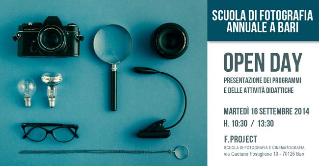Scuola di fotografia Campagna 2014 2015 Open Day 17 settembre (blu 650)