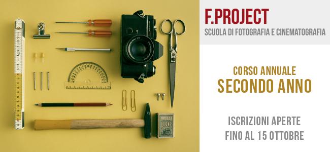 Scuola F.project - iscrizioni aperte fino al 15 ottobre - secondo anno