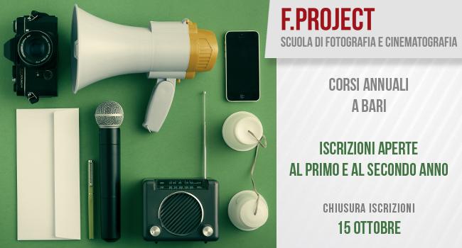 Scuola di Fotografia a Bari - iscrizioni fino al 15 ottobre