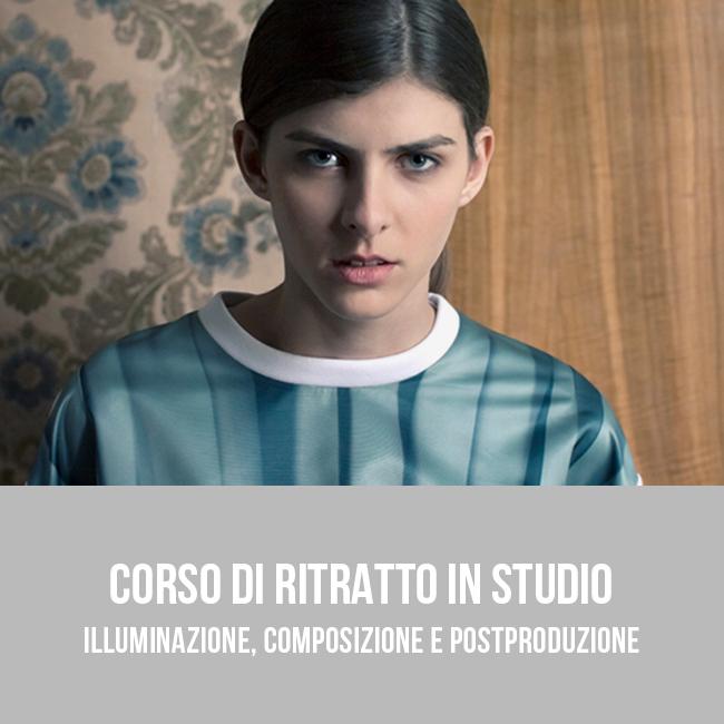 Corso pratico di ritratto fotografico in studio a Bari - Puglia 02