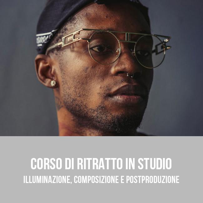 Corso pratico di ritratto fotografico in studio a Bari - Puglia