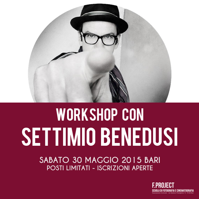 Settimio Benedusi - Workshop a Bari - F.project (650 x 650)