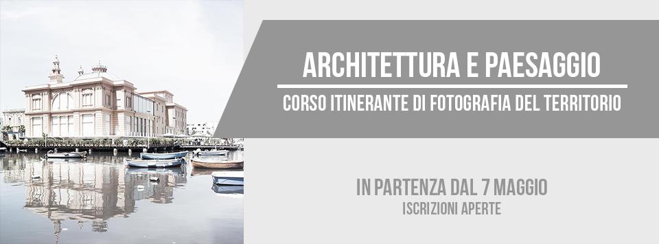 Corso di fotografia di architettura e paesaggio banner sito 960 px
