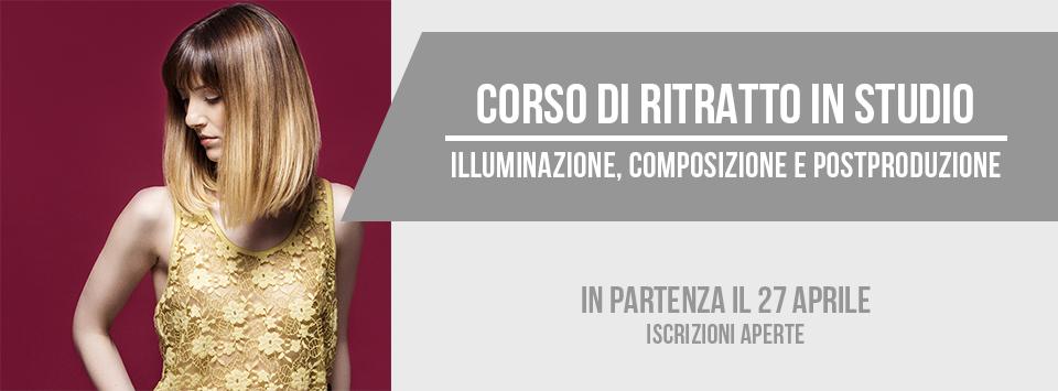 Corso di Ritratto fotografico in Studio a Bari - 27 aprile 2017