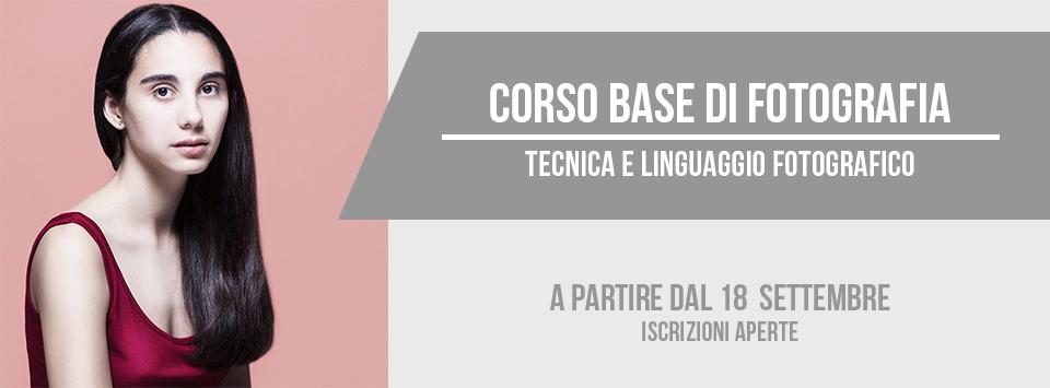 Corso base di fotografia a Bari (Puglia) dal 18 settembre 2017