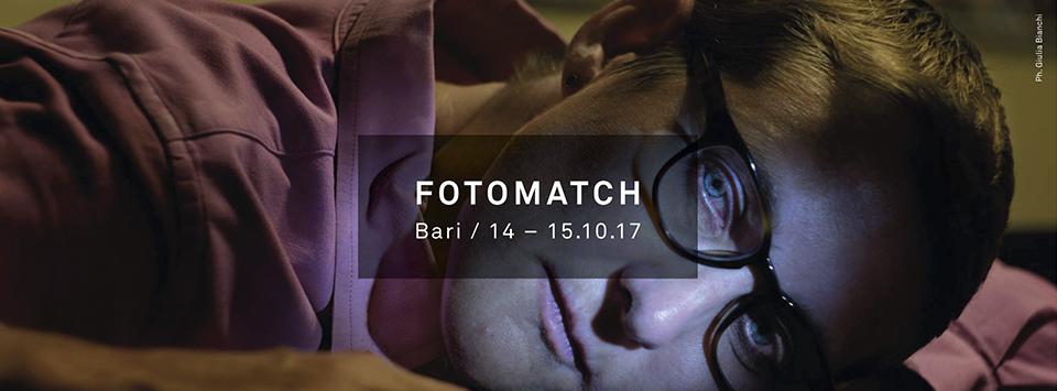 Photomatch - due giorni di fotografia in città (14 - 15 ottobre Bari)