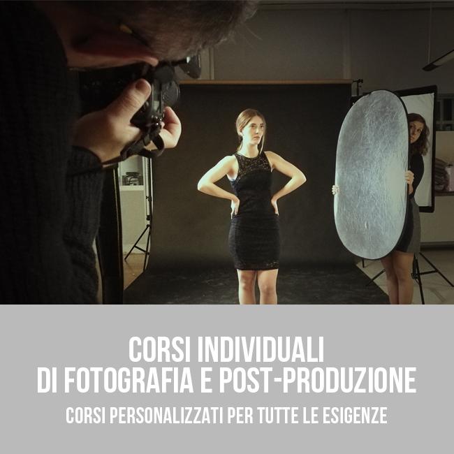 Corso individuale di fotografia e postproduzione a Bari - Puglia