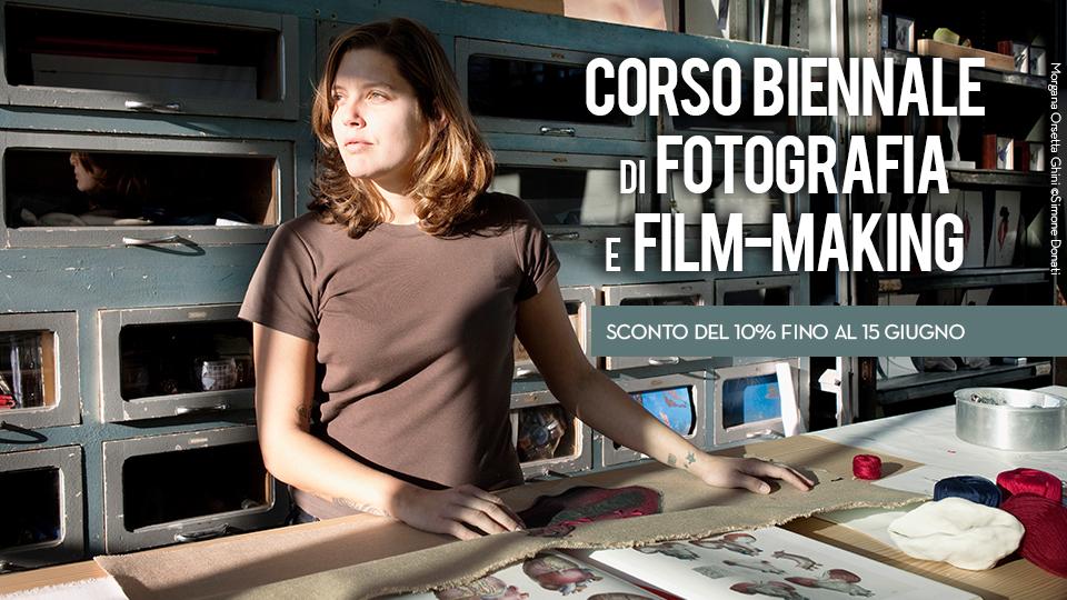 Corso biennale di fotografia e Film-making 2018_2019 a Bari, Puglia