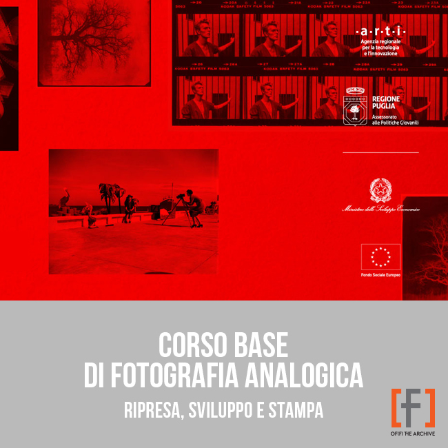 Corso base di Fotografia Analogica in camera oscura a Bari - Puglia