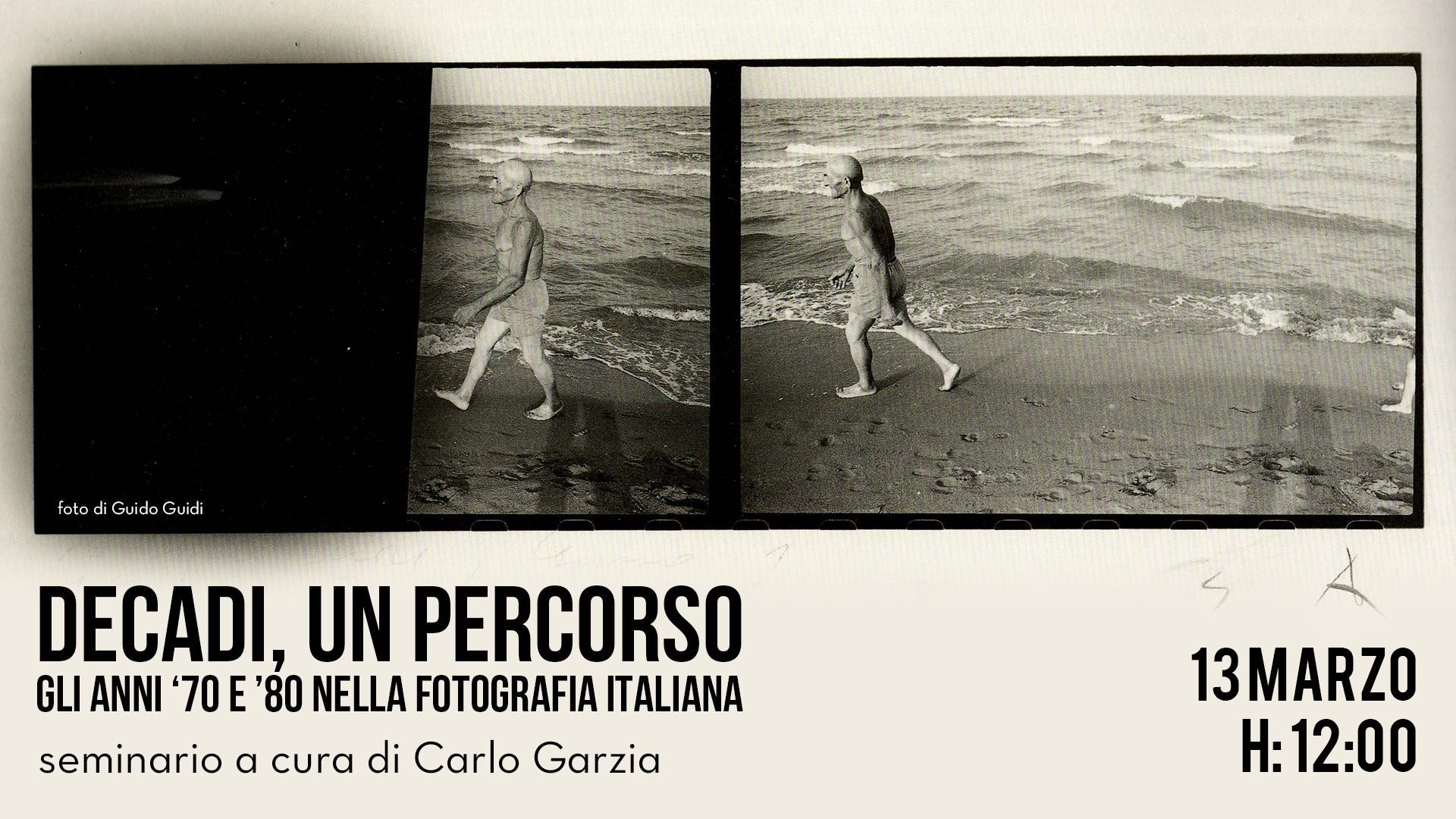 DECADI Carlo Garzia, anni 70 e 80 fotografia italiana