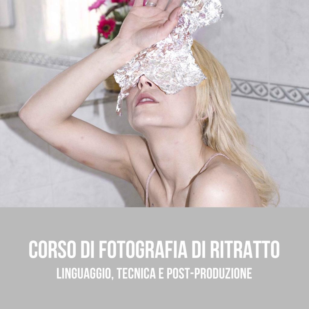 Corso di Fotografia di Ritratto a Bari, linguaggio tecnica post-produzione - Puglia