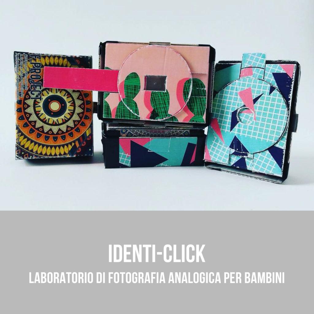 Identi-Click - corso di fotografia analogica per bambini a Bari, Puglia